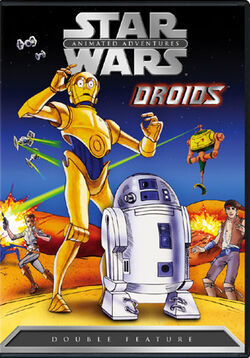 Star Wars Droids animated series DVD cover