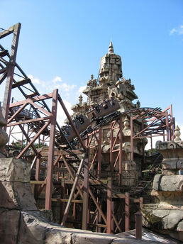 Indiana Jones and the Temple of Doom, Disneyland Paris, France