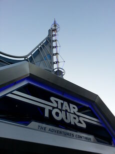Disneyland Star Tours The Adventures Continue Entrance