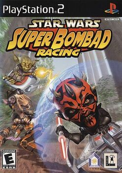 Star Wars Super Bombad Racing boxart