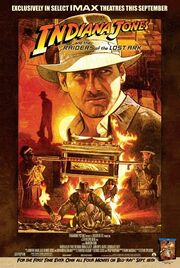 Raiders of the Lost Ark IMAX re-release poster