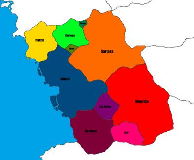 Estalia - States