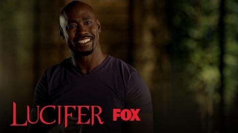 Amenadiel And Lucifer Discover The Final Piece To The Flaming Sword Season 2 Ep. 18 LUCIFER