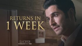 S2 Lucifer back May 1 - 1 week