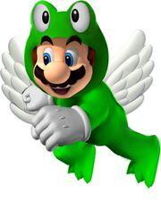 Winged Frog Mario