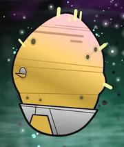Potatoids' ship
