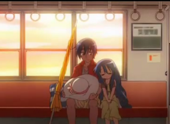 File:Kanata sleeps on Sōjirō on the way home from the beach.png