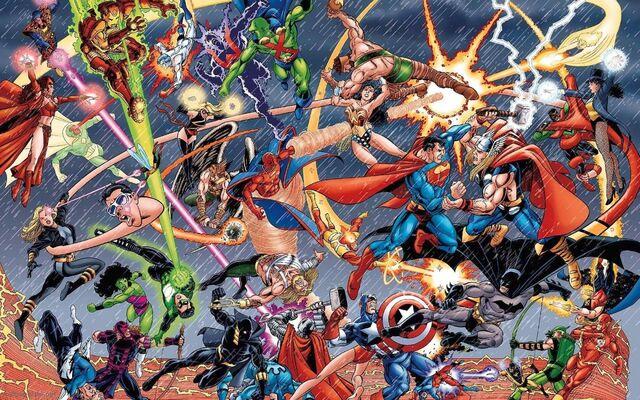 File:Detective Comics VS Marvel Comics.jpg
