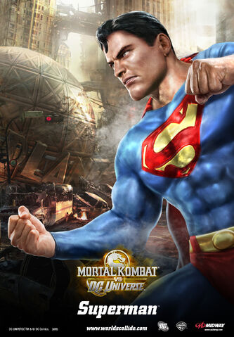 File:Mortal Kombat vs. DC Universe - Posters - Detective Comics Characters - Superman.jpg