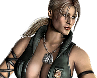 Mortal Kombat - Ladder Images - Sonya Blade