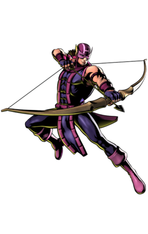 File:Ultimate Marvel vs. Capcom 3 - Marvel Comics Characters - Hawkeye.png