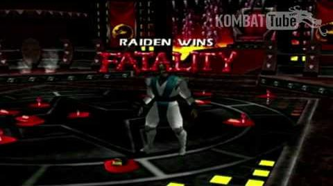"Mortal Kombat 4 Mortal Kombat Gold - Fatalities - Raiden - ""Electrocution"""