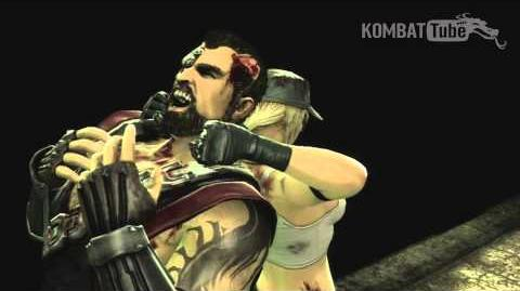 "Mortal Kombat (2011) - Fatalities - Sonya Blade - ""Kut-Throat"""