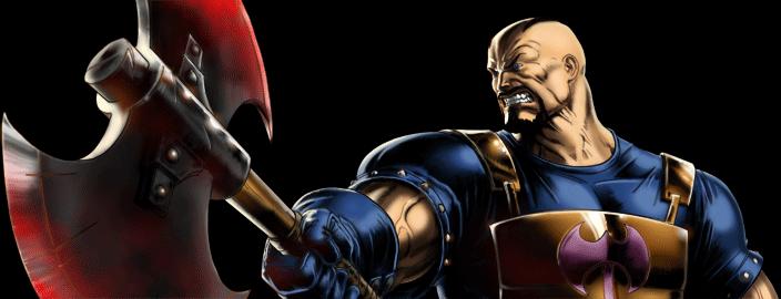 Marvel Avengers Alliance - Dialogue Artwork - Executioner