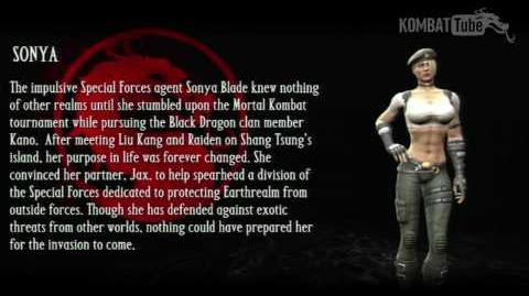 Mortal Kombat vs. DC Universe - Biographies - Sonya Blade