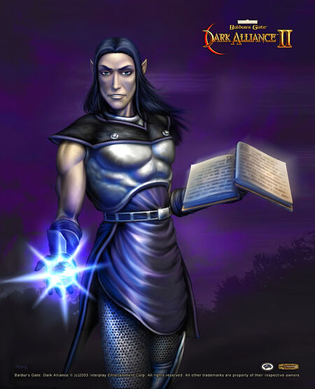 Baldur's Gate- Dark Alliance II - Ysuran Auondril