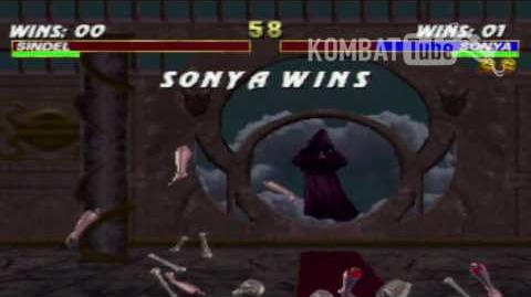 Mortal Kombat 3 - Animalities - Sonya Blade