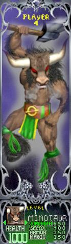 File:Gauntlet Dark Legacy - Green Minotaur (Player 4).PNG