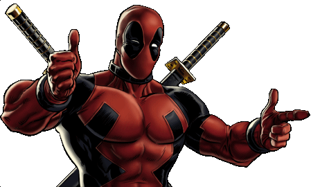 Marvel Avengers Alliance - Dialogue Artwork - Deadpool (Classic)