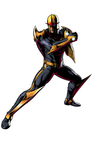 File:Ultimate Marvel vs. Capcom 3 - Marvel Characters - Nova.png