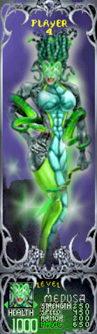 File:Gauntlet Dark Legacy - Green Medusa (Player 4).PNG