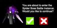 Photo-Shopped: Spider Boss Battle Instance