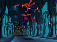 Loonatics back kick