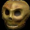 Eerie skull
