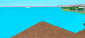 Island seen