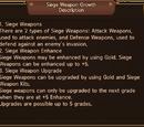 Siege Upgrading