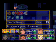 Swarm Dance Menu