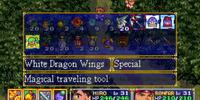 White Dragon Wings