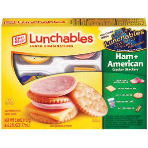 Lunchables Ham & American