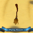 Flying besom