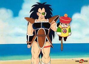 Goku-Vs-Raditz-Wallpaper