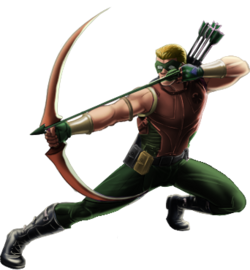 Connor Hawke-Green Arrow