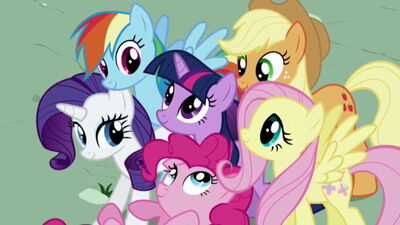 My little pony friendship is magic group shot2