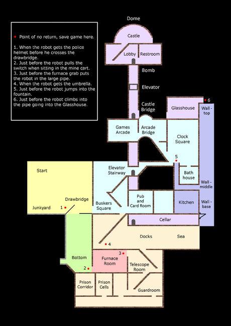 Levels map 1 - black new