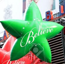 Green Believe Star