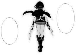 Sasha manga pose