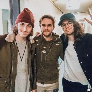 Robinson, Zedd, and Madeon