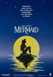 The Little Mermaid Disney movie poster