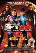 Spy kids four all the time in the world poster