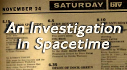 AnInvestigationInSpacetime