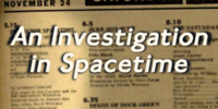 An Investigation In Spacetime