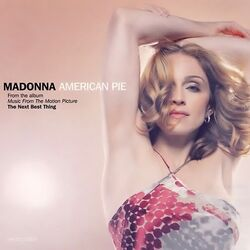 Madonna-american pie (single)-front