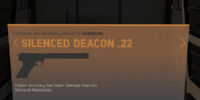 Silenced Deacon .22