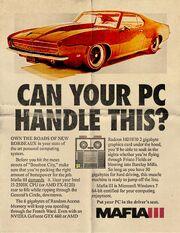 Mafia PC Full Specs
