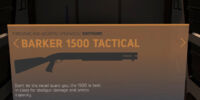 Barker 1500 Tactical