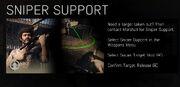 Sniper Support Tutorial